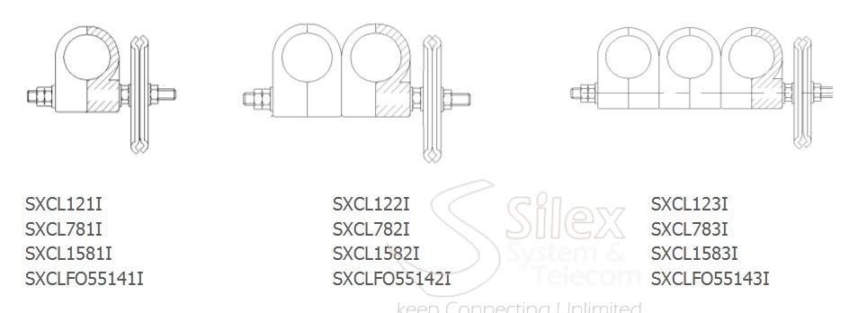 grapas coaxiales 1-2 7-8 1-5-8 INTERIOR REJILLA silex
