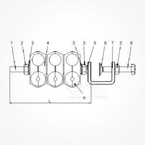Grapa-Exterior-Torre-Silexst-SLX-DC+FO 2x