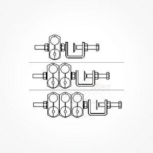 Grapa-Exterior-Torre-Silexst-SLX SLX-DC+FO 2x Grupo