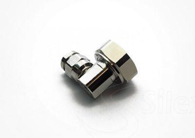 Conector Silex 90º DIN716 RG8 RG214 LMR400 (1)
