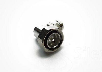 Conector Silex 90º DIN716 RG8 RG214 LMR400 (3)