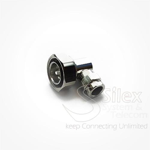 Conector Silex 90º DIN716 RG8 RG214 LMR400 (5)