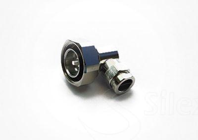 Conector Silex 90º DIN716 RG8 RG214 LMR400 (6)