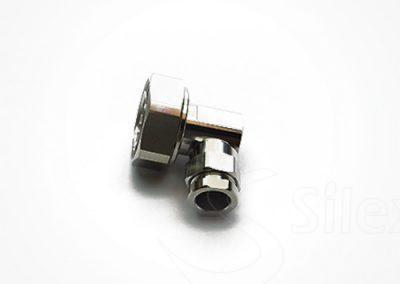 Conector Silex 90º DIN716 RG8 RG214 LMR400 (7)