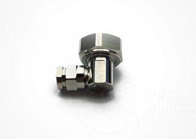 Conector Silex 90º DIN716 RG8 RG214 LMR400 (8)