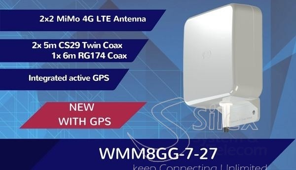 Antena Panel Direccional MiMo 2×2 MiMo 4G LTE